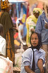 Young traders in a Malian market