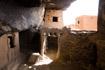 Abandoned Dogon homes on the Bandiagara cliffs