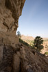 Overhanging cliff section near Bandiagara Mali